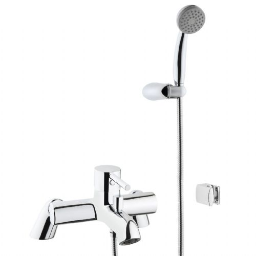 Vitra Minimax S Bath Shower Mixer Tap - Chrome